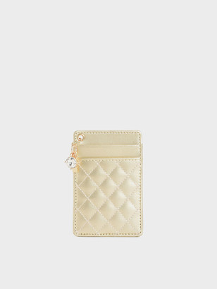Charles & Keith Quilted Card Holder