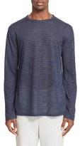 Alexander Wang Men's Linen Stripe Long Sleeve T-Shirt