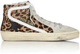 Golden Goose Deluxe Brand Women's Suede & Calf Hair Slide Sneakers