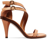 Chloé Leather Sandals - Tan