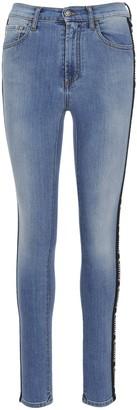 Marcelo Burlon County of Milan Side Band Skinny Jeans