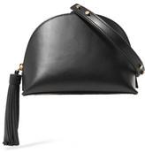 Loeffler Randall Tasseled Leather Shoulder Bag - Black