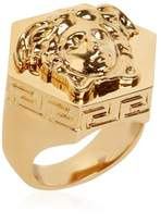 Versace Multi Angular Medusa Ring