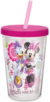 Zak Designs Zak! Designs® Minnie 13-Ounce Double Wall Tumbler with Straw