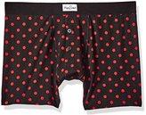 Happy Socks Men's 1 Pack Red Dot Boxer Brief