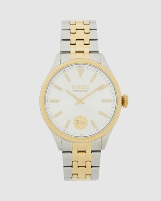 Versus By Versace Men's Silver Analogue - Colonne 45mm - Size One Size at The Iconic
