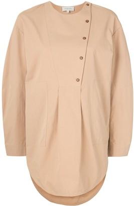 Lee Mathews Kei cotton button-up shirt