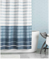 """Hotel Collection Colonnade """"72 x 84"""" Extra Long Shower Curtain"""