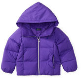 Ralph Lauren Girls 2-6x Quilted Down Hooded Jacket