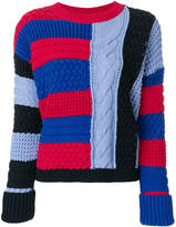 Tommy Hilfiger contast knit sweater