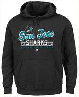 Majestic Men's San Jose Sharks Intense Defense Hoodie