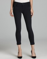 J Brand Jeans - Indigo Sateen 8020 Anja Cuffed Crop in Vision