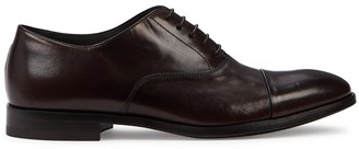 Paul Smith Brent Brown Leather Oxford Shoes