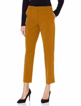 Dorothy Perkins Women's Tan Split Hem Ag Trousers