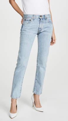 KHAITE Kyle Relax Low Rise Jeans