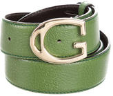 Gucci Textured Leather Belt