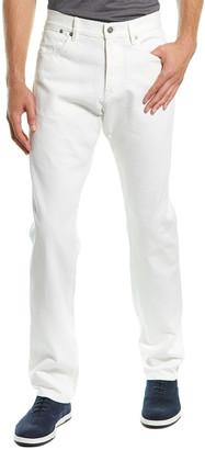 Dunhill White Straight Leg