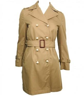 Gucci Beige Silk Trench Coat for Women
