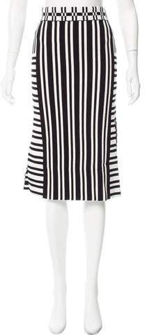 Striped Knit Skirt w- Tags