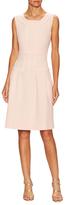 Oscar de la Renta Wool Sleeveless Dress