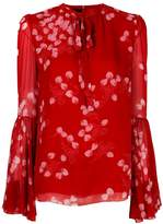 Giambattista Valli strawberry print blouse