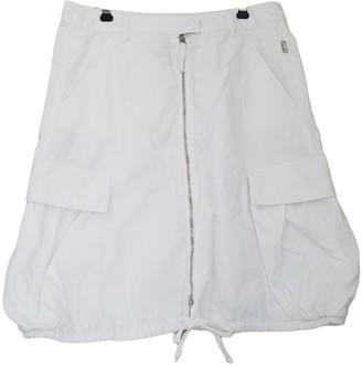 Jean Paul Gaultier White Cotton Skirts