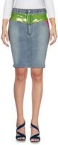 Jeremy Scott Denim skirts