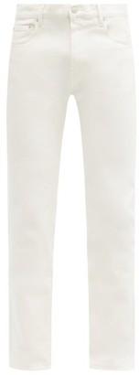 Jeanerica Jeans & Co. - Sm001 Slim-leg Jeans - White