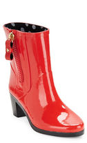 Kate Spade Penny High-Heel Rubber Ankle Rain Boots