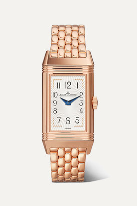 Jaeger-LeCoultre Jaeger Lecoultre Reverso One Duetto Moon 20mm Rose Gold And Diamond Watch