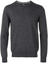 Eleventy round neck plain sweatshirt - men - Virgin Wool - M
