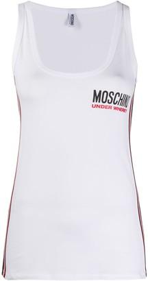 Moschino Logo Print Top