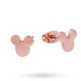 Disney Rose Gold Plated Mickey Plain Studs