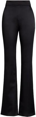 Chiara Boni Venusette Satin Wide-Leg Pants