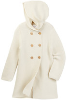 Iris & Ivy Solid Coatigan Hooded Sweater (Toddler & Little Girls)