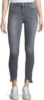Joe's Jeans Blondie Frayed-Edge Skinny Jeans