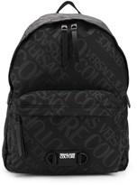 Versace repeat logo backpack