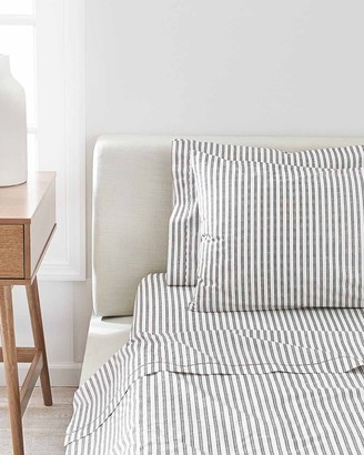 Splendid Ticking Stripe Sheet Pillowcases