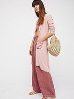 Ribbed Up Maxi Cardigan by FP Beach at Free People