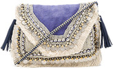 Shashi Leela Clutch in Purple.