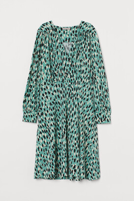 H&M Creped Jersey Dress