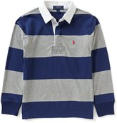 Ralph Lauren Big Boys 8-20 Bold-Stripe Rugby Shirt