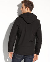 GUESS Coat, Hooded Soft Shell Jacket