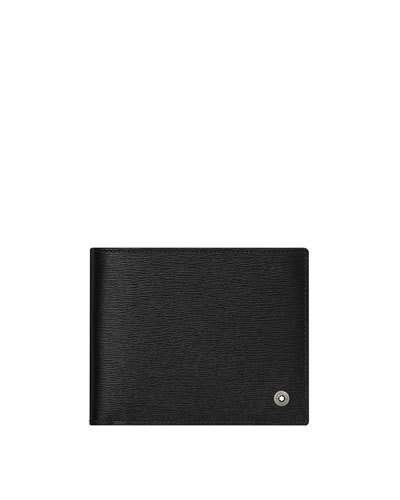 Montblanc Leather Bifold Wallet, Black