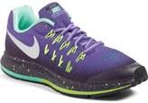 Nike Zoom Pegasus 33 Shield Water Repellent Running Shoe (Big Kid)