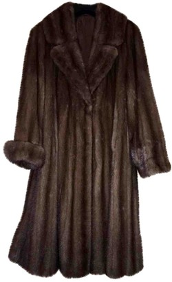Italia Independent Brown Mink Leather jackets