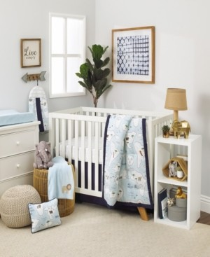 NoJo Little Explorer 8-Piece Crib Bedding Set Bedding