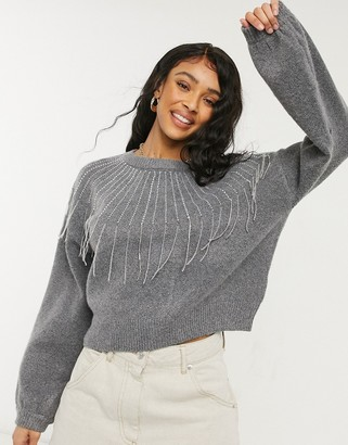 BB Dakota if you fancy sweater in grey made from recycled fabrics