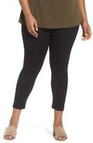 Sejour Plus Size Women's Ponte Ankle Leggings