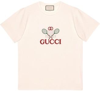 Gucci oversize Tennis T-shirt